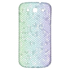 The Background Wallpaper Mosaic Samsung Galaxy S3 S III Classic Hardshell Back Case