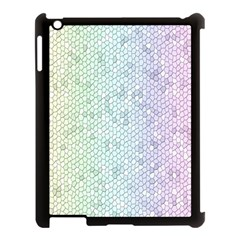 The Background Wallpaper Mosaic Apple iPad 3/4 Case (Black)