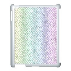 The Background Wallpaper Mosaic Apple iPad 3/4 Case (White)
