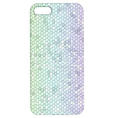 The Background Wallpaper Mosaic Apple iPhone 5 Hardshell Case with Stand