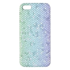 The Background Wallpaper Mosaic Apple Iphone 5 Premium Hardshell Case