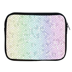 The Background Wallpaper Mosaic Apple iPad 2/3/4 Zipper Cases