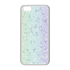 The Background Wallpaper Mosaic Apple iPhone 5C Seamless Case (White)