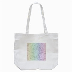 The Background Wallpaper Mosaic Tote Bag (White)