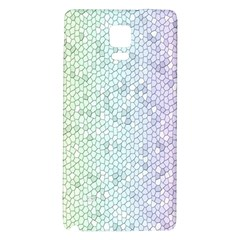 The Background Wallpaper Mosaic Galaxy Note 4 Back Case