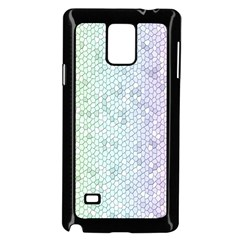 The Background Wallpaper Mosaic Samsung Galaxy Note 4 Case (Black)