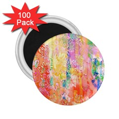 Watercolour Watercolor Paint Ink  2.25  Magnets (100 pack)