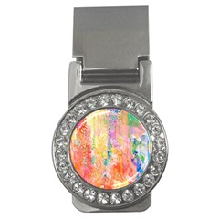 Watercolour Watercolor Paint Ink  Money Clips (CZ)