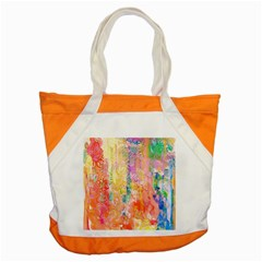 Watercolour Watercolor Paint Ink  Accent Tote Bag