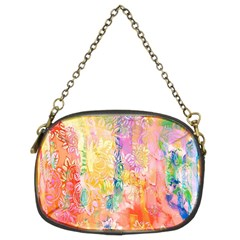 Watercolour Watercolor Paint Ink  Chain Purses (Two Sides)