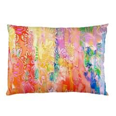 Watercolour Watercolor Paint Ink  Pillow Case