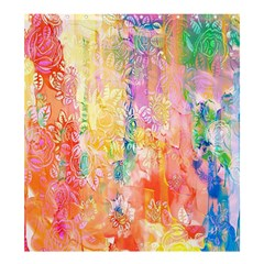 Watercolour Watercolor Paint Ink  Shower Curtain 66  x 72  (Large)