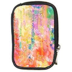 Watercolour Watercolor Paint Ink  Compact Camera Cases
