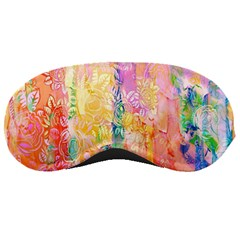 Watercolour Watercolor Paint Ink  Sleeping Masks