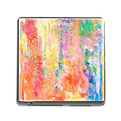 Watercolour Watercolor Paint Ink  Memory Card Reader (Square)