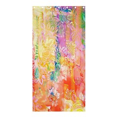 Watercolour Watercolor Paint Ink  Shower Curtain 36  x 72  (Stall)