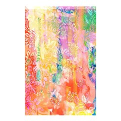 Watercolour Watercolor Paint Ink  Shower Curtain 48  x 72  (Small)