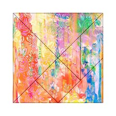 Watercolour Watercolor Paint Ink  Acrylic Tangram Puzzle (6  x 6 )