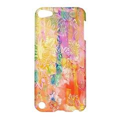 Watercolour Watercolor Paint Ink  Apple iPod Touch 5 Hardshell Case