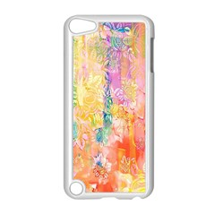 Watercolour Watercolor Paint Ink  Apple iPod Touch 5 Case (White)