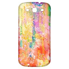 Watercolour Watercolor Paint Ink  Samsung Galaxy S3 S III Classic Hardshell Back Case