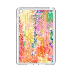 Watercolour Watercolor Paint Ink  iPad Mini 2 Enamel Coated Cases