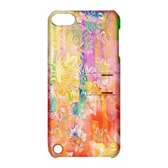 Watercolour Watercolor Paint Ink  Apple iPod Touch 5 Hardshell Case with Stand