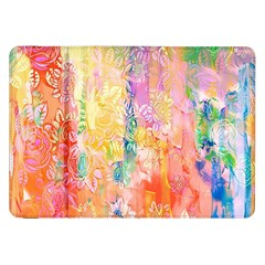 Watercolour Watercolor Paint Ink  Samsung Galaxy Tab 8.9  P7300 Flip Case
