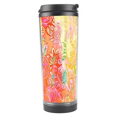 Watercolour Watercolor Paint Ink  Travel Tumbler