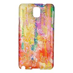Watercolour Watercolor Paint Ink  Samsung Galaxy Note 3 N9005 Hardshell Case