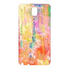 Watercolour Watercolor Paint Ink  Samsung Galaxy Note 3 N9005 Hardshell Back Case
