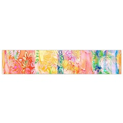 Watercolour Watercolor Paint Ink  Flano Scarf (Small)