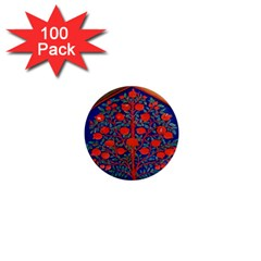 Tree Of Life 1  Mini Magnets (100 Pack)