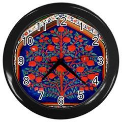 Tree Of Life Wall Clocks (Black)