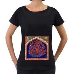 Tree Of Life Women s Loose-Fit T-Shirt (Black)