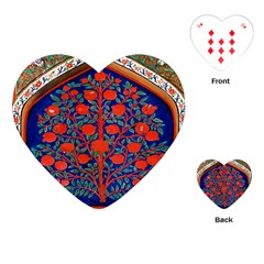 Tree Of Life Playing Cards (Heart)