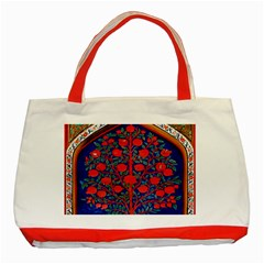 Tree Of Life Classic Tote Bag (Red)