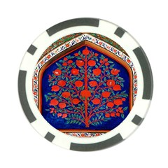 Tree Of Life Poker Chip Card Guard