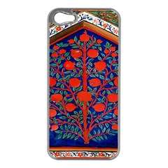 Tree Of Life Apple iPhone 5 Case (Silver)