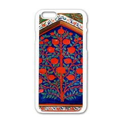 Tree Of Life Apple iPhone 6/6S White Enamel Case