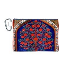 Tree Of Life Canvas Cosmetic Bag (M)
