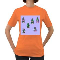 Watercolour Paint Dripping Ink  Women s Dark T-Shirt