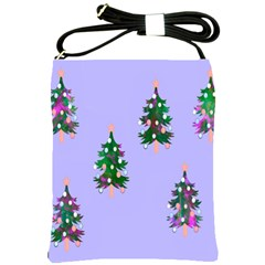 Watercolour Paint Dripping Ink  Shoulder Sling Bags