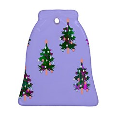 Watercolour Paint Dripping Ink  Ornament (bell)