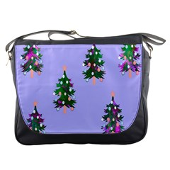 Watercolour Paint Dripping Ink  Messenger Bags