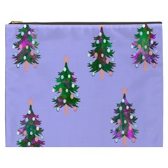 Watercolour Paint Dripping Ink  Cosmetic Bag (XXXL)