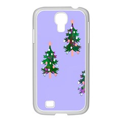 Watercolour Paint Dripping Ink  Samsung GALAXY S4 I9500/ I9505 Case (White)