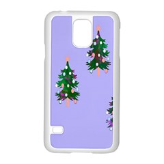 Watercolour Paint Dripping Ink  Samsung Galaxy S5 Case (White)