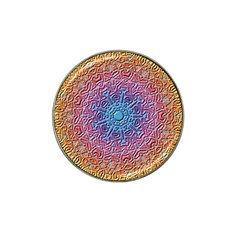 Tile Background Pattern Texture Hat Clip Ball Marker (4 pack)