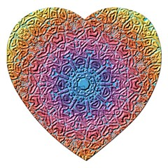 Tile Background Pattern Texture Jigsaw Puzzle (Heart)